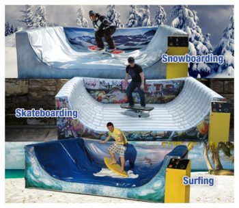 Xtreme Board Combo Mechanical Ride
