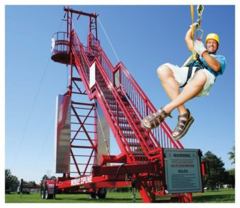 Mobile Zipline Rental