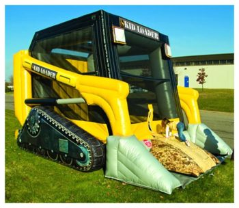 Skid Steer Bounce House